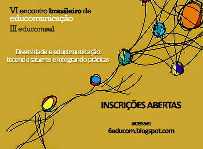 """""""VI Encontro Brasileiro de Educomunicação"""" e """"III Educom Sul"""" acontecem em junho, em Porto Alegre-RS"""